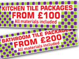 Tile Packages from £100
